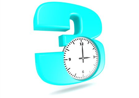 3 O clock Stock Photo - 16254843