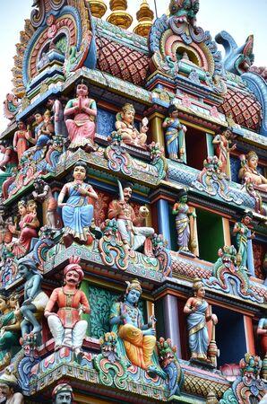 mariamman: Sri Mariamman Temple Singapore  Stock Photo