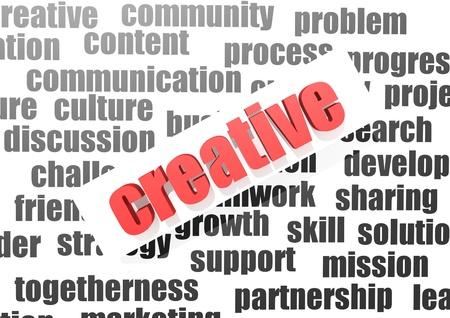 originative: Creative concept