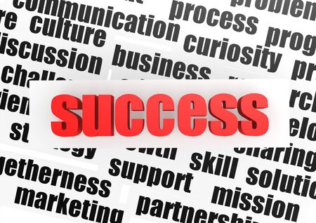 Success concept Stock Photo - 16254946