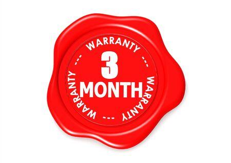 validez: Tres meses sello de garant�a