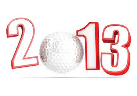 2013 golf Stock Photo - 16572441