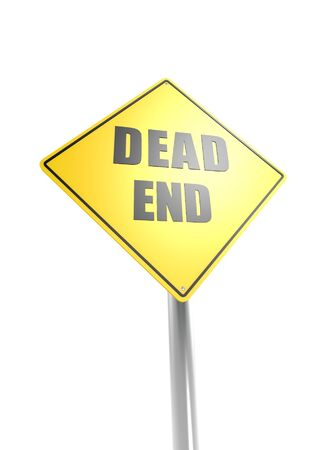 Dead End Road Sign Stock Photo - 16613013