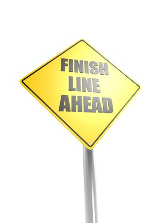 Finish Line Ahead Stock Photo - 16613153