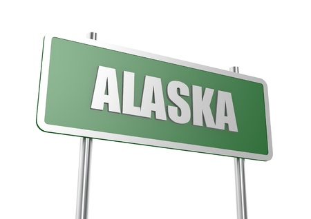 Alaska sign board photo