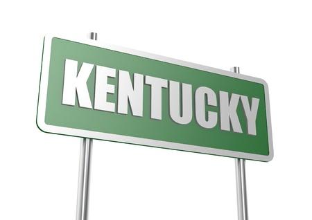 Kentucky sign board photo