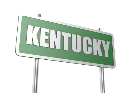 Kentucky signe conseil d'administration photo