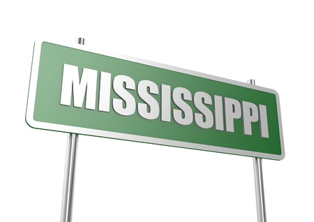 Mississippi sign board photo