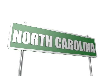 North Carolina sign board photo