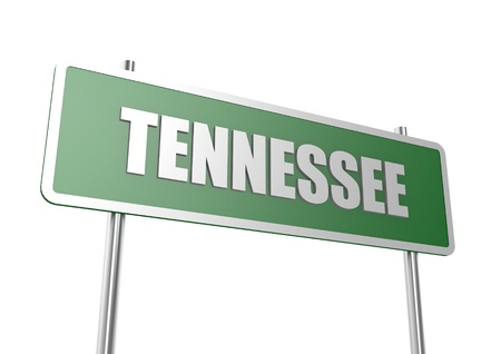 Tennessee sign board photo