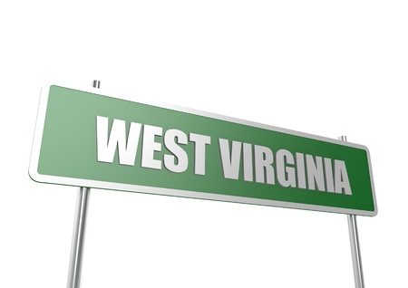 West Virginia sign board photo