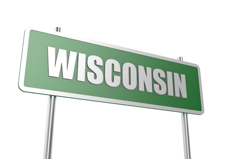 Wisconsin sign board photo