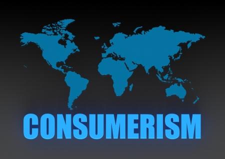 World comsumerism Stock Photo - 16668303
