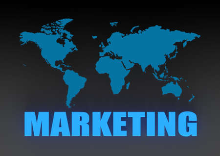 World marketing Stock Photo - 16668292