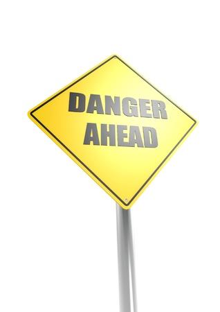 Danger ahead Stock Photo - 16755394