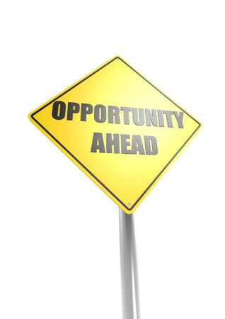 Opportunity ahead Stock Photo - 16755401