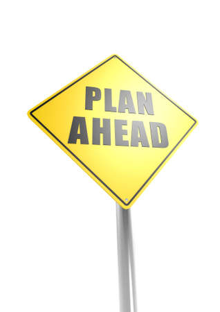 Plan aheed Stock Photo - 16755388