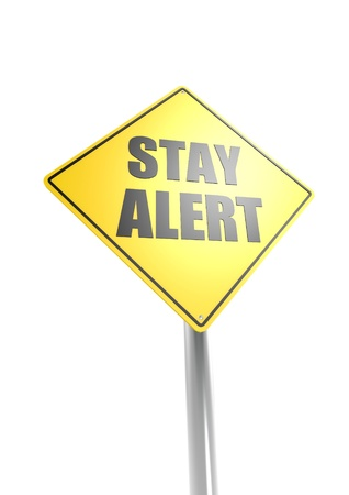 Stay alert Stock Photo - 16755390