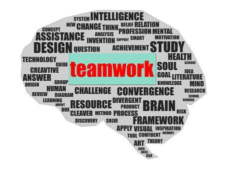congregation: Teamwork concept Stock Photo