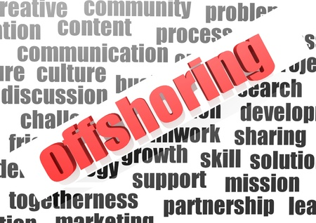 offshoring: business work of offshoring