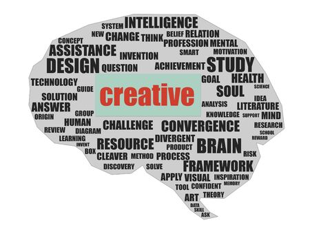 Creative brain photo