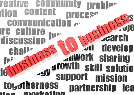 Business to business Stock Photo - 16950489