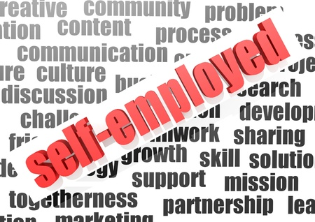 business work of self-employed Stock Photo - 16969525