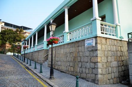 portugese: Portugese building in Macau