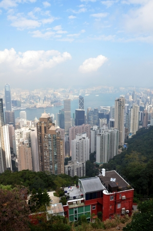 Hong Kong from the top photo