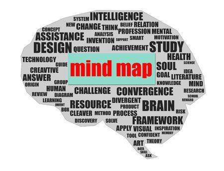 Brain mind map Stock Photo - 17039803