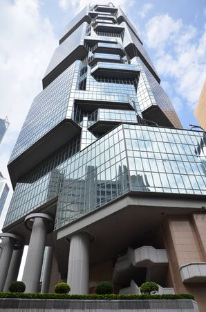 financal: Hong Kong Lippo building