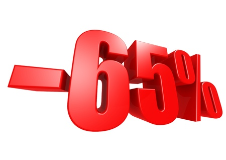 Minus 65 percent Stock Photo - 17274493