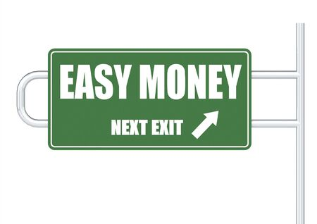 Easy money Stock Photo - 17434469