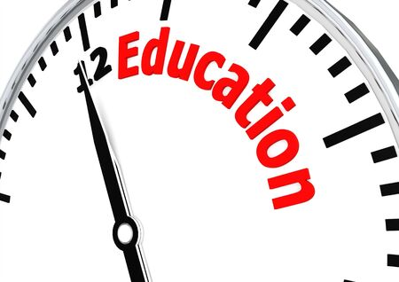 Education time Stock Photo - 17434471
