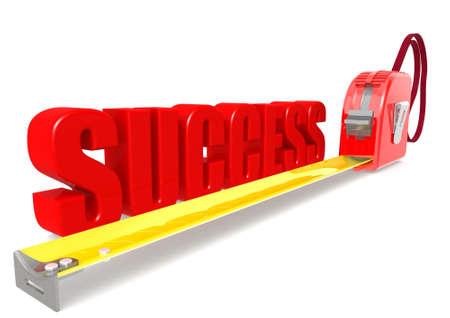 Measurement of success Stock Photo - 17462050