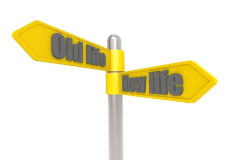 Old and new life Stock Photo - 17462052