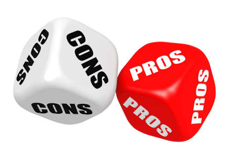 cons: Pros and cons dices