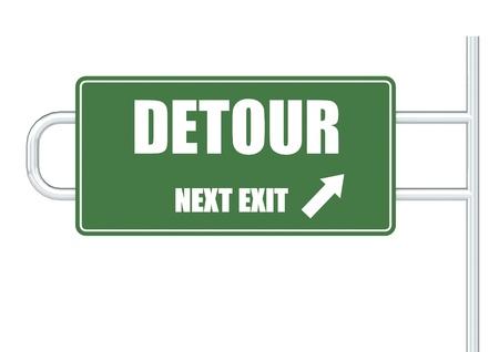detour: Detour Stock Photo