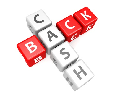 Cash back in cube Stock Photo - 17755602