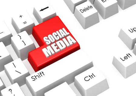 Social media Stock Photo - 17755637
