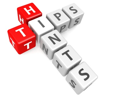 hints: Tips and hints in cube