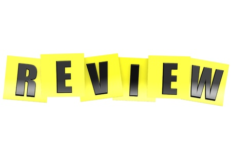 kudos: Review in yellow note