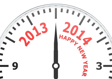 New year of 2014 Stock Photo - 18340855