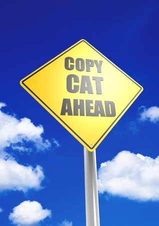 Copy cat ahead Stock Photo - 18514810
