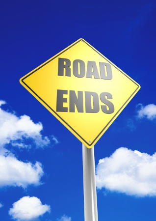 ends: Road ends