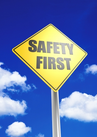 Safety first Stock Photo - 18514816