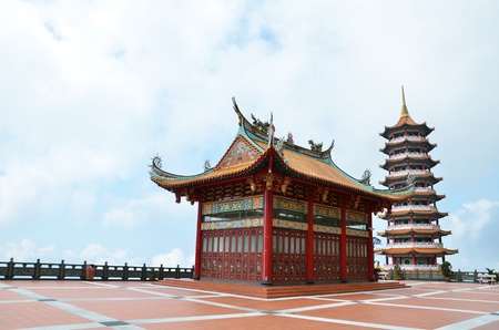 chinese temple: Chinese temple in Genting highland