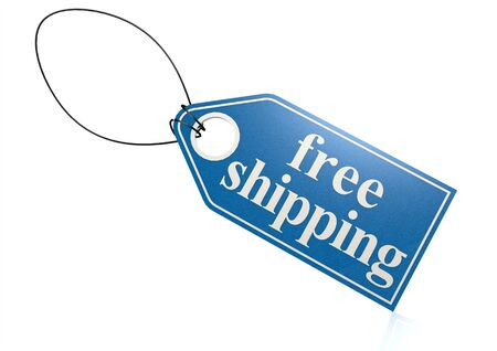 Free shipping label photo