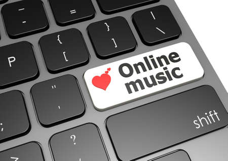 Online music photo