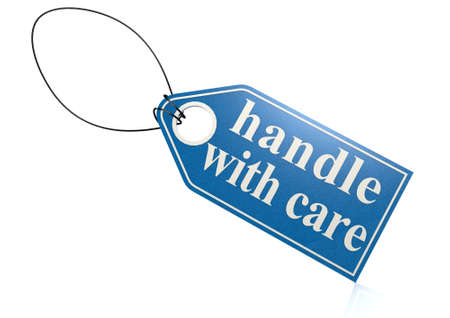 handle with care: Handle with care label